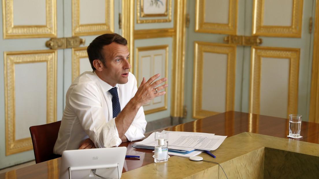 """Macron sobre el brote en China: """"Obviamente sucedieron cosas que no sabemos"""""""