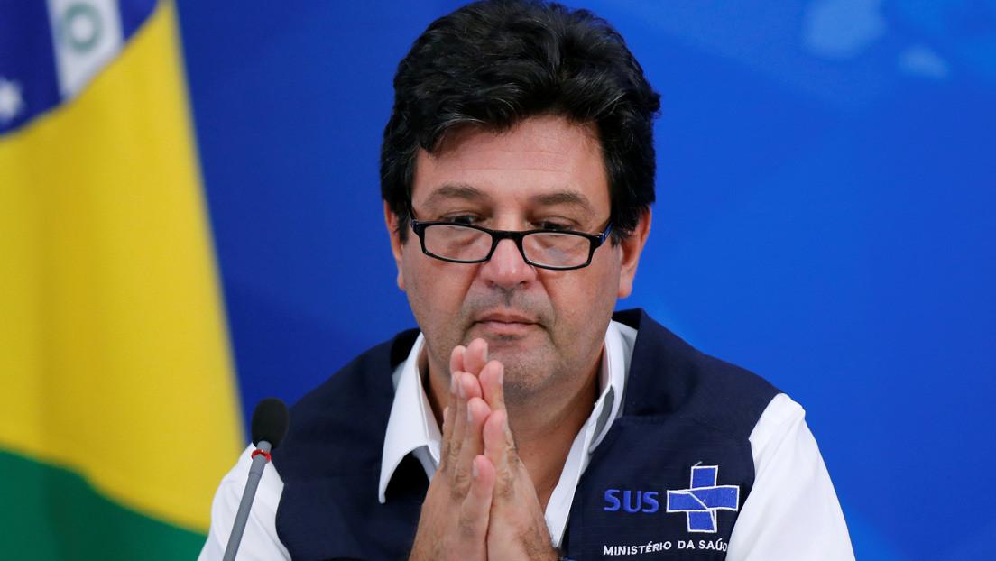 Bolsonaro destituye al ministro de Salud de Brasil por discrepancias sobre el manejo de la crisis del coronavirus
