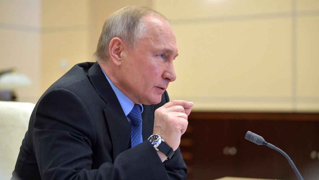Putin on the pandemic coronavirus: The spike still