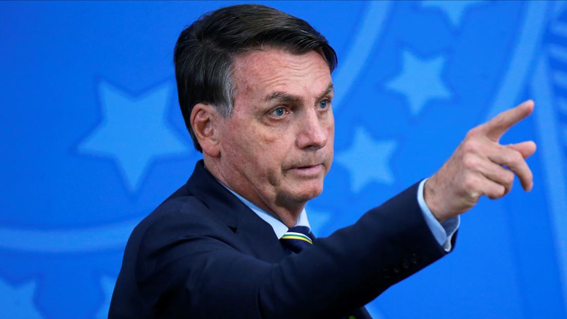 """Bolsonaro defiende la reapertura del comercio y las fronteras: """"Es un riesgo que corro"""""""