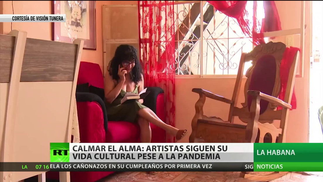 Artistas cubanos continúan con la vida cultural a través de las redes a pesar de la pandemia