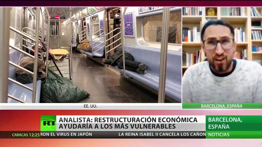 """Experto: """"Hay que reestructurar la economía, potenciar ayudas y servicios básicos"""" tras la pandemia"""