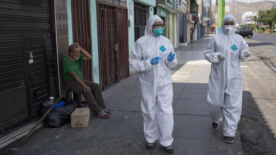 Peru keeps secret the route of sending masks and testing of the covid-19 from China