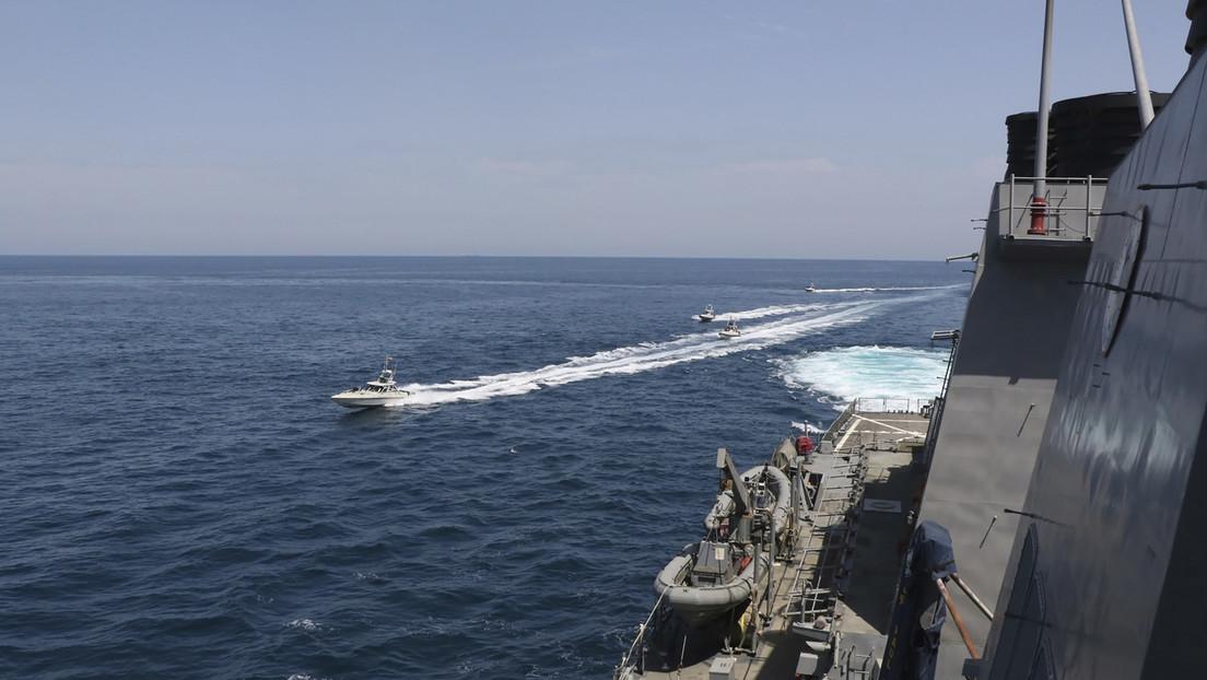 Irán confirma un reciente incidente con la Marina de EE.UU. en el golfo Pérsico