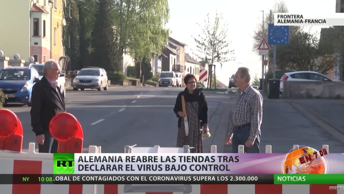 """Coronavirus en Europa: Alemania permite reabrir tiendas tras declarar que el virus está """"bajo control"""""""