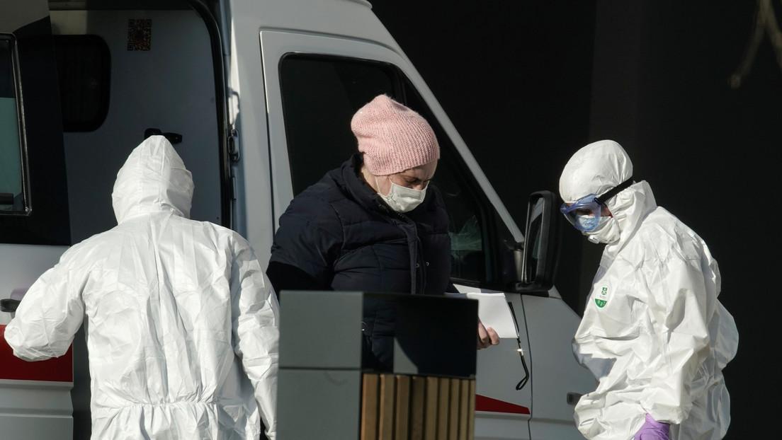 Rusia registra 4.268 nuevos casos de coronavirus en un día y el total se eleva a 47.121