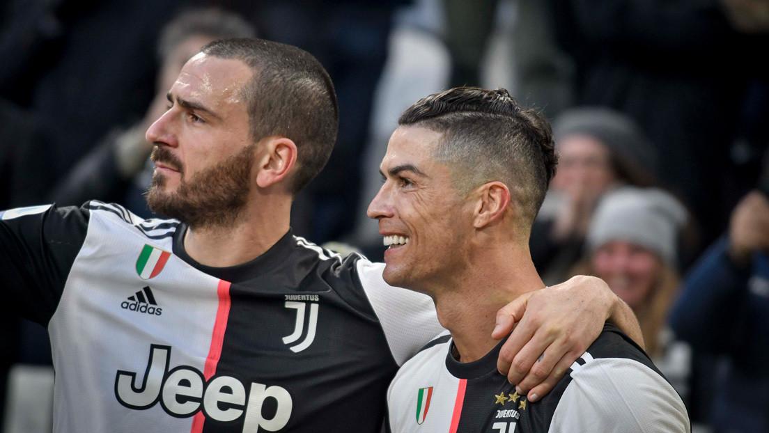 Critican a los jugadores de la Juventus CR7 y Bonucci por asistir a fiestas durante la cuartena por covid-19