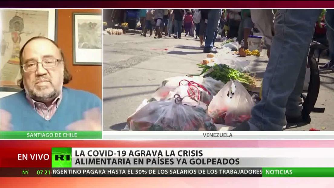 El coronavirus agrava la crisis alimentaria en los países latinoamericanos