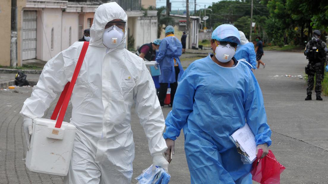 Ecuador supera los 10.000 contagiados por coronavirus y el número de fallecidos confirmados sube a 507