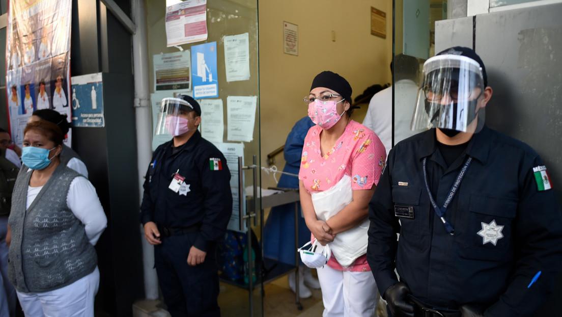 Entre lágrimas, jefa de enfermeras en México pide frenar agresiones contra personal de salud