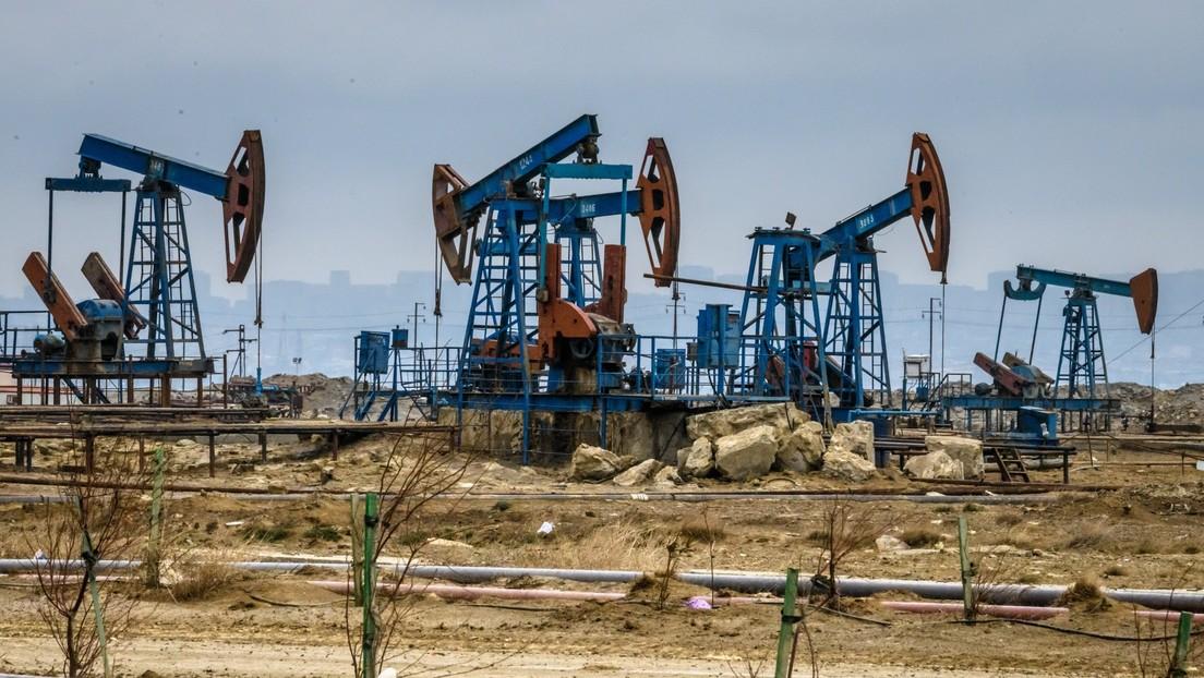 El precio de los futuros del petróleo WTI para junio cae por debajo de 7 dólares