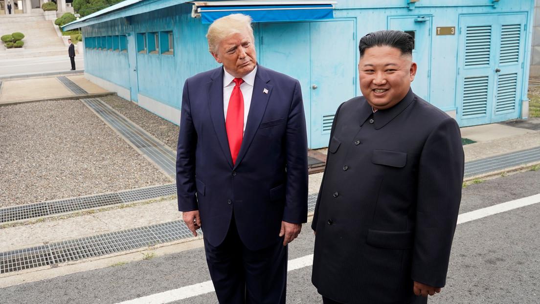"""""""No les doy credibilidad a los informes de la CNN"""": Trump es escéptico sobre la reportada grave enfermedad de Kim Jong-un pero le desea lo mejor"""