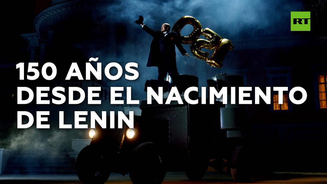 Cumpleaños de Lenin en plena cuarentena: fiesta en un camión blindado sin invitados