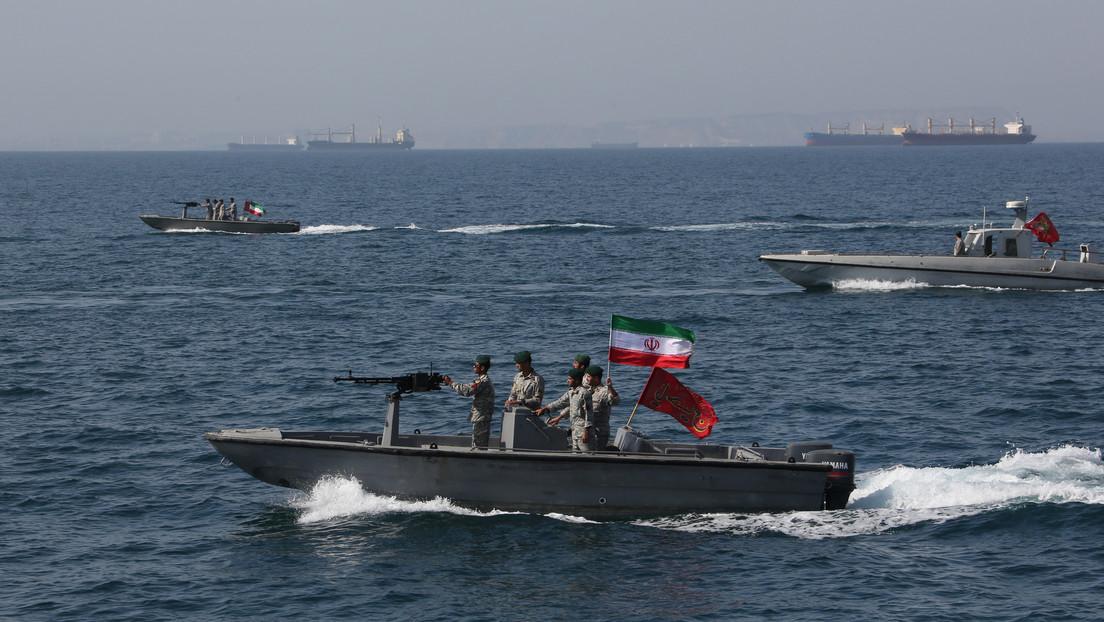"""Trump: """"He instruido a la Marina de EE.UU. de destruir todas las cañoneras iraníes si hostigan a nuestros barcos en el mar"""""""