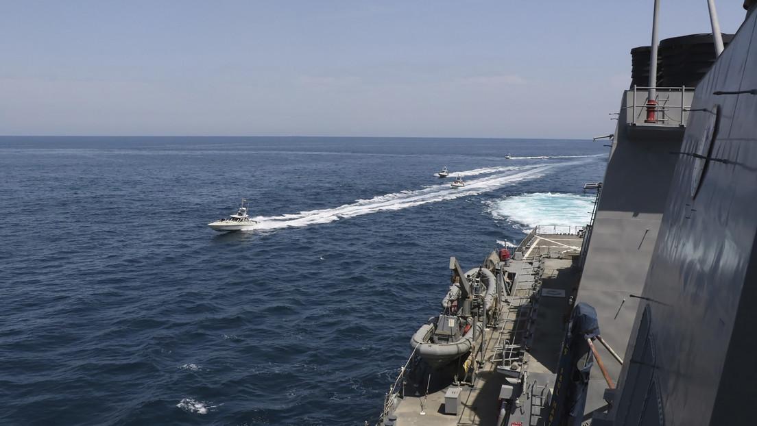 """Irán: """"EE.UU. no tiene nada que hacer a 7.000 millas de su país, provocando a marineros iraníes cerca de nuestras costas del golfo Pérsico"""""""