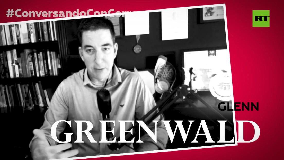 """Glenn Greenwald a Correa: """"Bolsonaro y Trump no son la causa del mal, son un síntoma y un subproducto"""""""