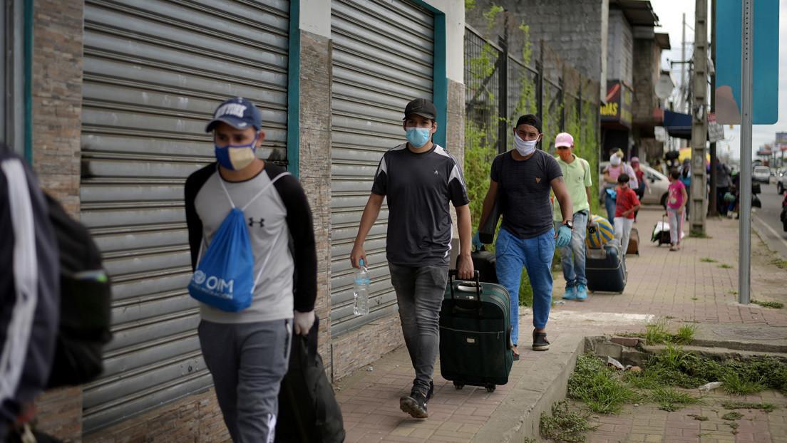 Más de 600 venezolanos regresan diariamente a su país desde Colombia, Ecuador y Perú