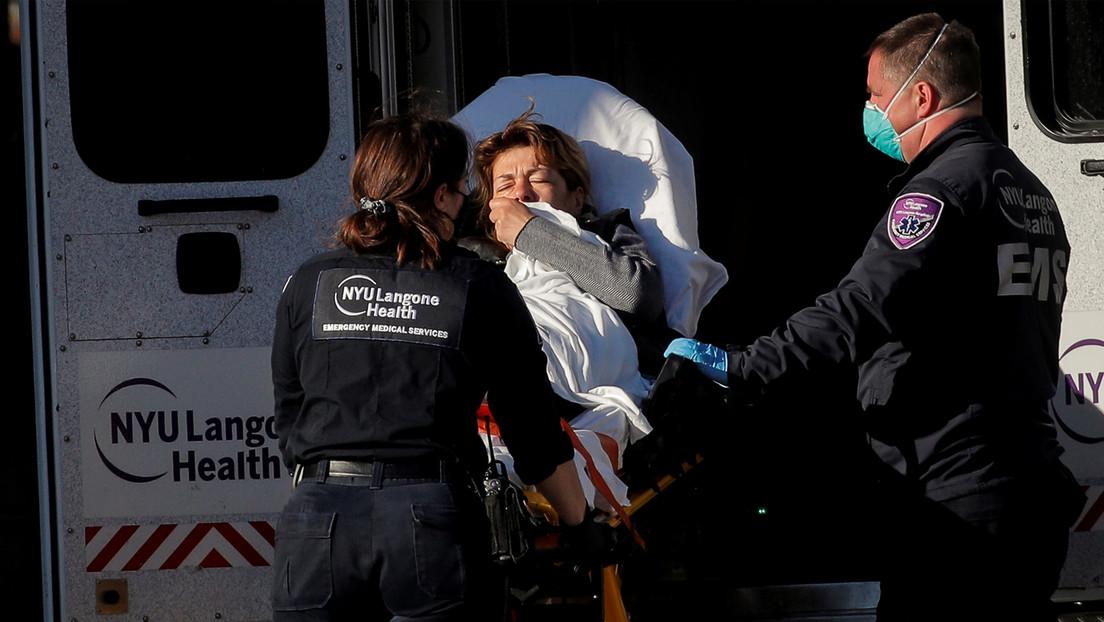EE.UU. registra más de 3.000 muertes por covid-19 en las últimas 24 horas, la segunda cifra más alta desde el inicio del brote
