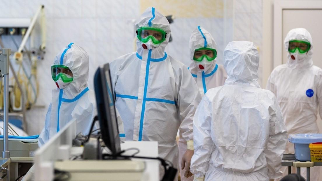 Rusia detecta 5.849 nuevos casos de coronavirus y el total asciende a 68.622