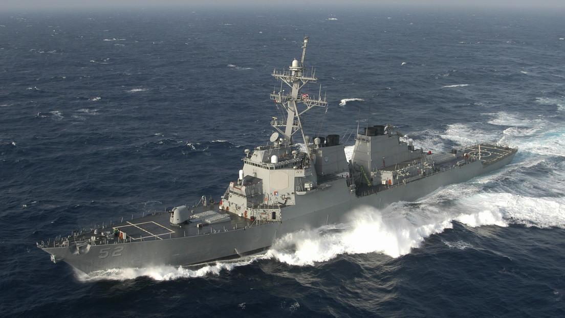 Un buque de guerra de EE.UU. navega por el estrecho de Taiwán por segunda vez en un mes