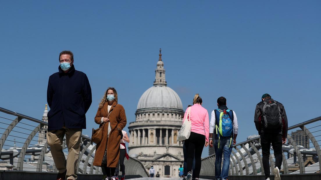 El Reino Unido supera los 20.000 muertos por coronavirus