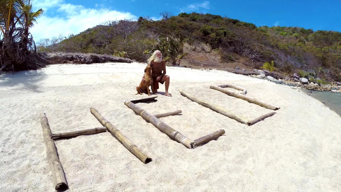 Un exmillonario que lleva más de 20 años en una isla desierta cuenta los secretos de la supervivencia