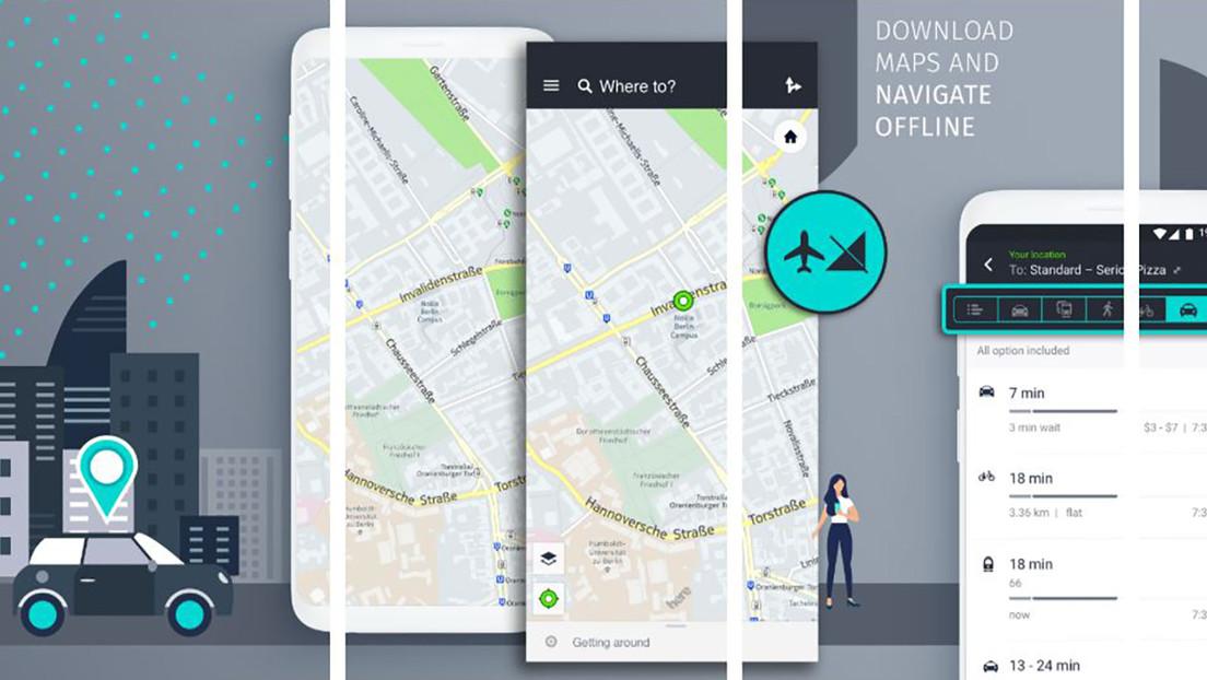 Huawei encuentra una alternativa al servicio del Google Maps
