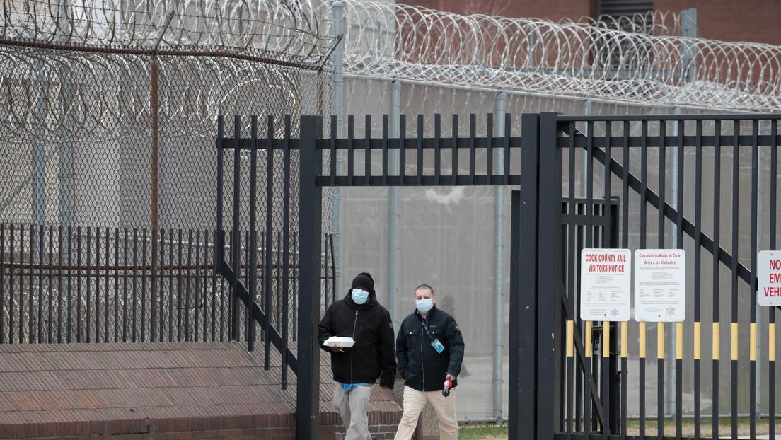 El 96% de los presos infectados con coronavirus en Estados Unidos no presentan síntomas