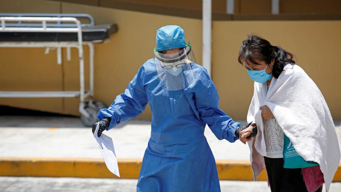 México registra un total de 14.677 casos de covid-19 y las muertes se elevan a 1.351
