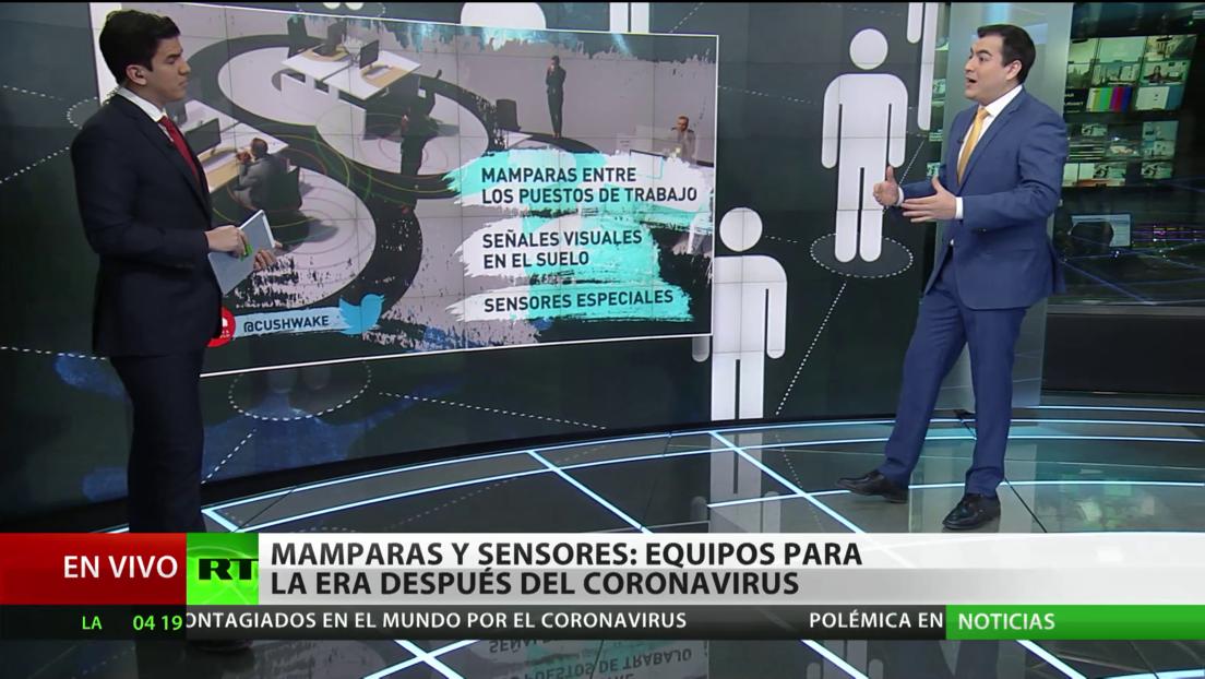 Mamparas y sensores: Cómo cambiara la pandemia del covid-19 nuestra vida cotidiana