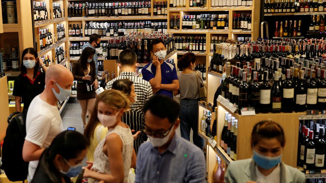 El exceso de alcohol aumenta el riesgo de sufrir un síndrome respiratorio que puede ser letal en casos de covid-19