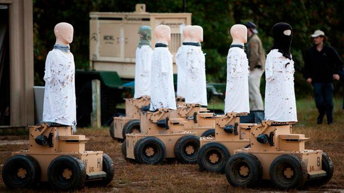 Una empresa australiana modifica sus robots militares para combatir al coronavirus con luz ultravioleta