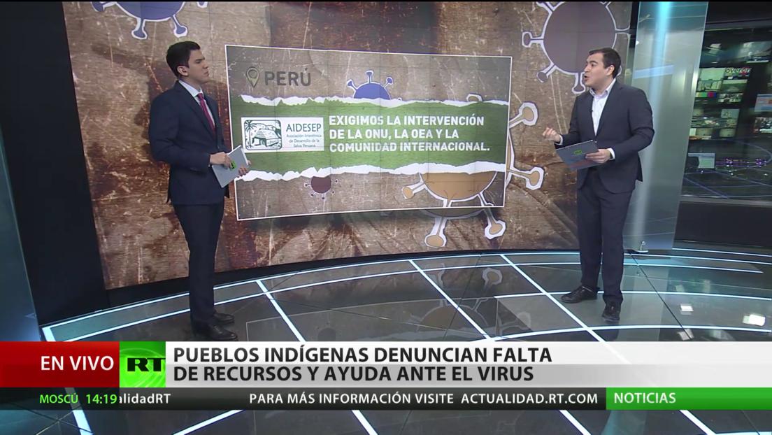 Pueblos indígenas de América Latina denuncian la falta de recursos y ayudas en plena pandemia del covid-19