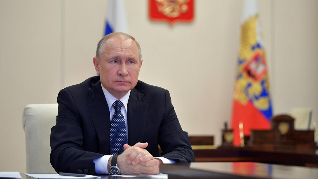 """""""Hay que prepararse para cualquier escenario"""": Putin prolonga hasta el 11 de mayo el régimen de días no laborables por el covid-19"""
