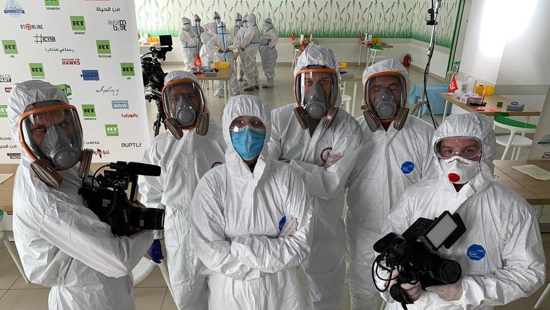 RT se convierte en la primera compañía en Rusia que realiza pruebas a empleados para detectar anticuerpos contra el coronavirus