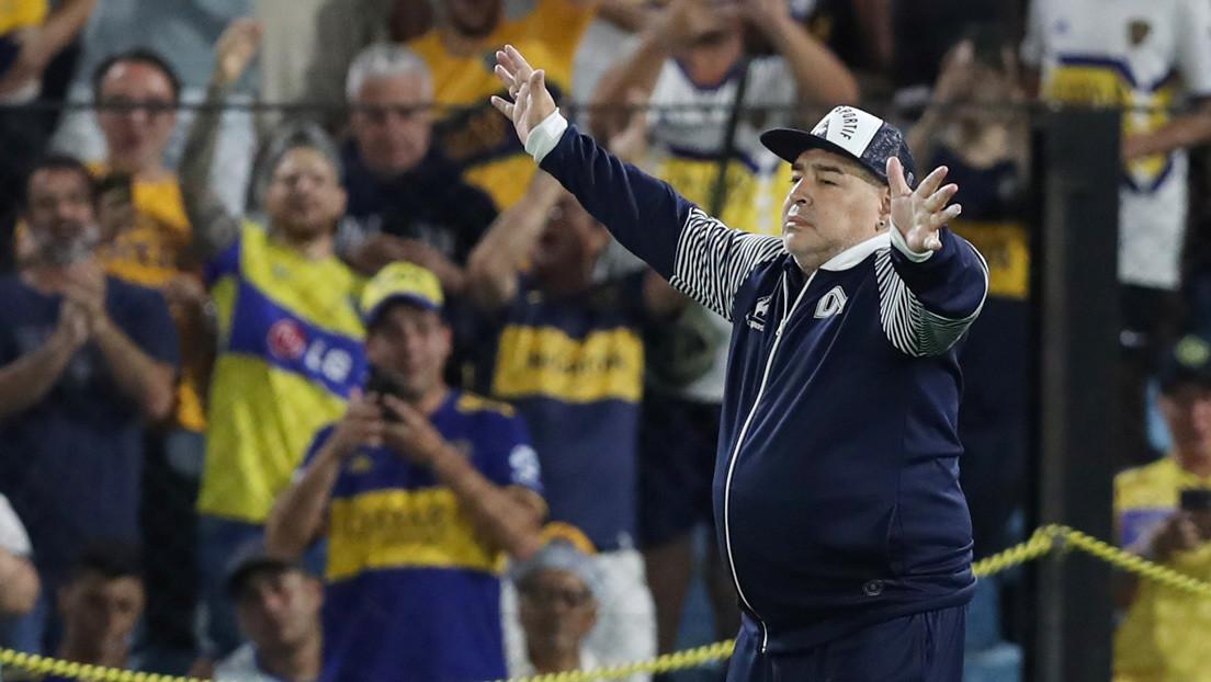 ¿Otra 'Mano de Dios'? El Gimnasia de Maradona mantiene su categoría por la suspensión de torneos en Argentina y la red estalla en memes