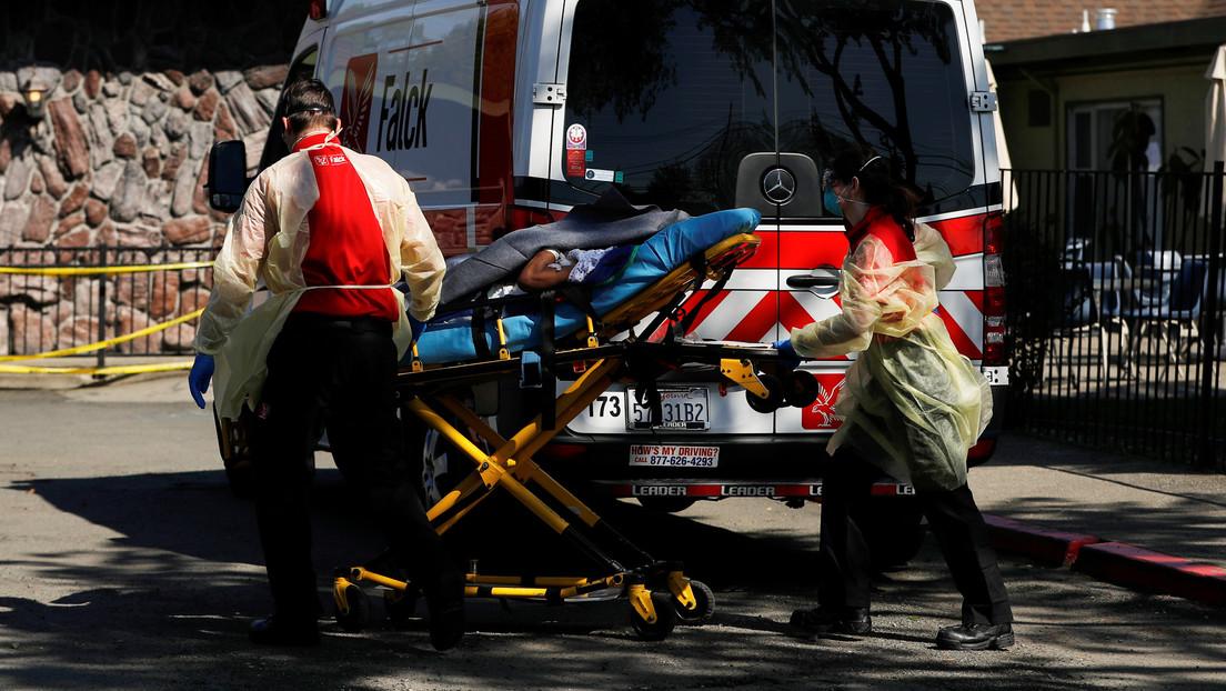 La autopsia de la primera víctima mortal del covid-19 en EE.UU. revela que sufrió una ruptura del corazón