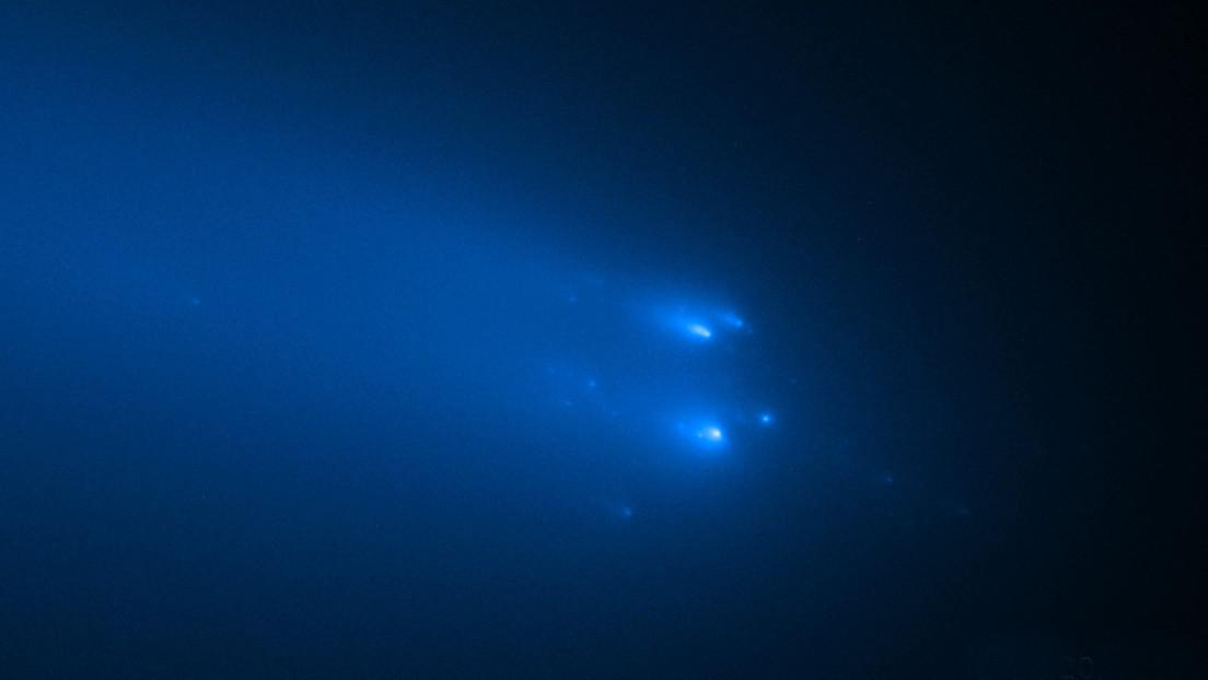 El telescopio Hubble captura imágenes nunca logradas de un cometa en desintegración