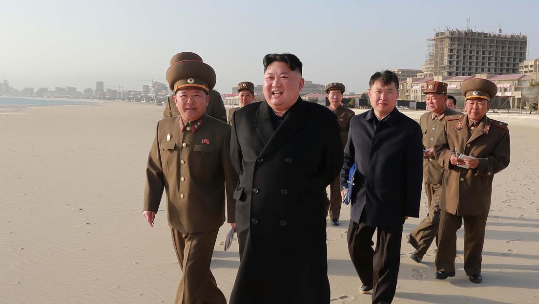 Imágenes por satélite de barcos de lujo en Corea del Norte muestran la posible ubicación de Kim Jong-un