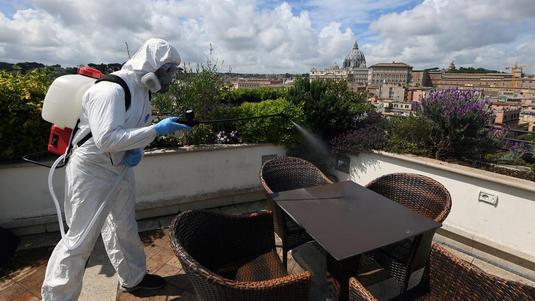 Italia registra en un día 323 muertes y más de 2.000 positivos de covid-19