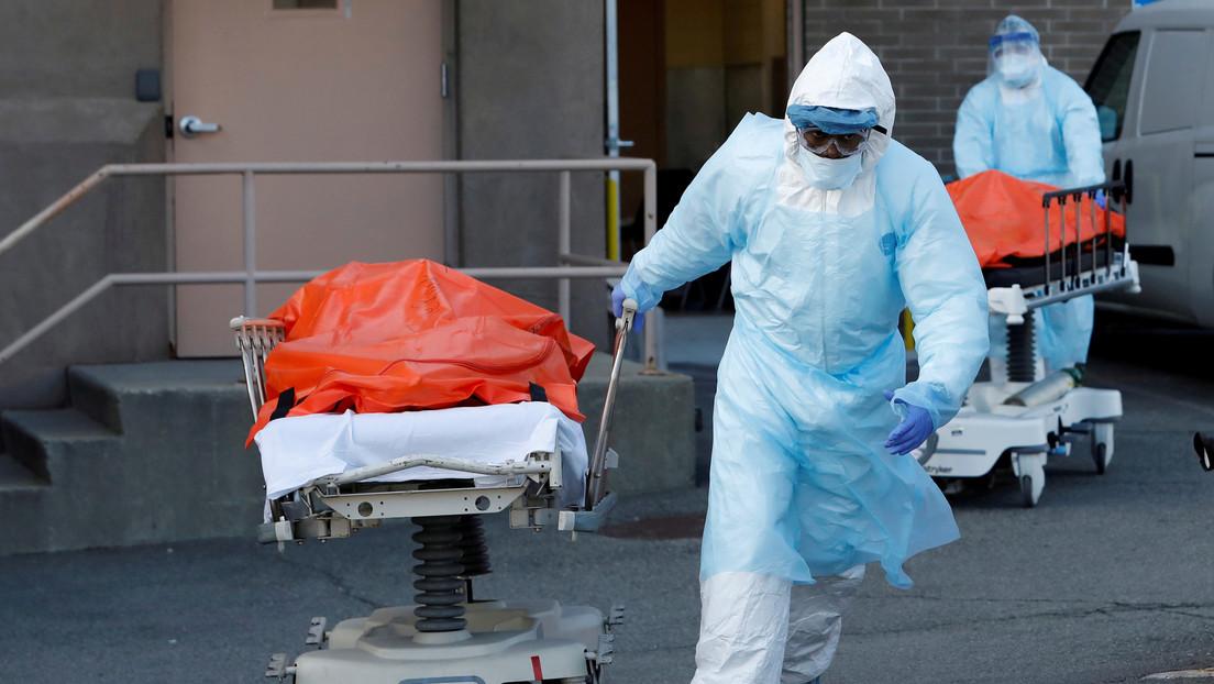 EE.UU. compra 100.000 bolsas más para cadáveres en previsión por la pandemia