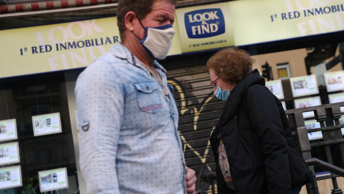 La economía española se contrae un 5,2 % en el primer trimestre por la pandemia de covid-19
