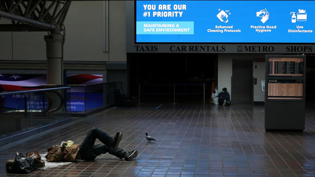EE.UU. suma 3,84 millones de parados más en una semana y ya ha perdido 30 millones de empleos por la crisis del coronavirus
