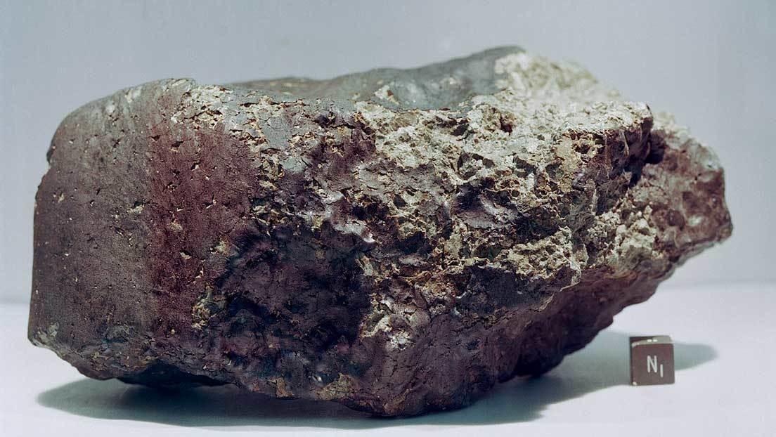 Hallan nitrógeno atrapado en los compuestos orgánicos de un meteorito marciano