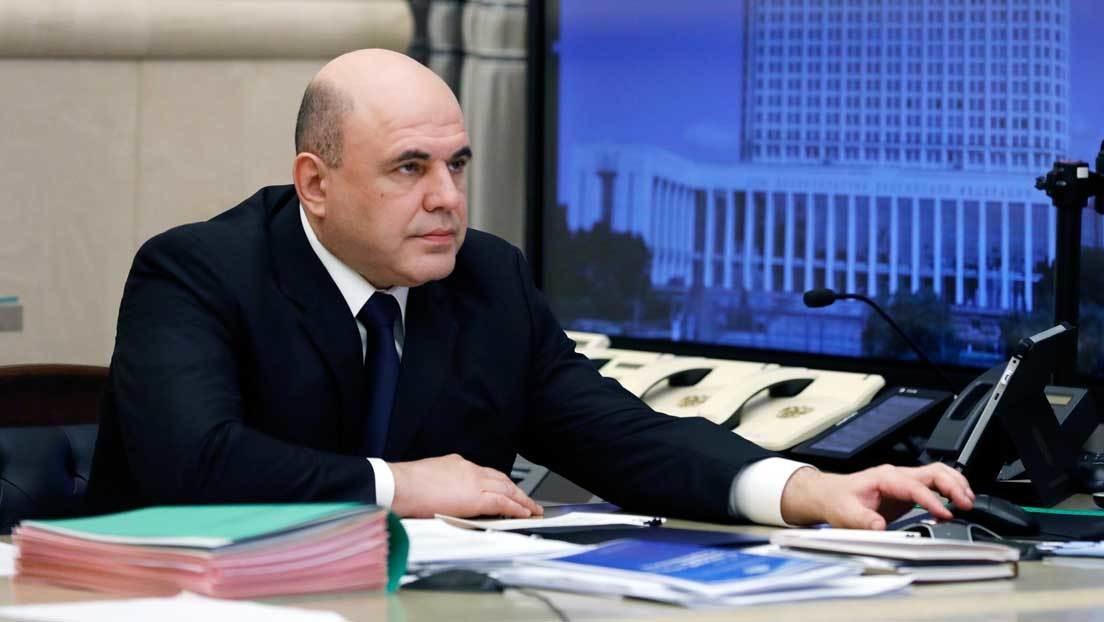 El primer ministro ruso, Mijaíl Mishustin, da positivo por coronavirus