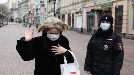 Rusia: 582 nuevos casos de coronavirus en 32 regiones elevan el total de infectados a 4.731