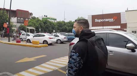 Un 'youtuber' infectado con coronavirus rompe la cuarentena y visita un supermercado en México (VIDEO)