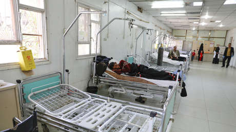 La sala de emergencias de un hospital en Sanaa, Yemen, 29 de marzo de 2020. Khaled Abdullah / Reuters