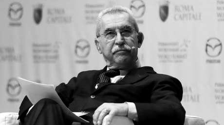 Fallece a los 79 años Giulietto Chiesa, periodista y político italiano