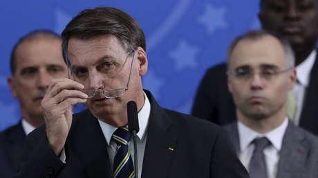 """Bolsonaro, sobre las muertes por covid-19: """"¿Qué quiere que haga? Soy Mesías pero no hago milagros, la vida es así"""""""